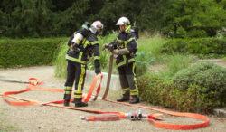 La caserne des pompiers volontaires