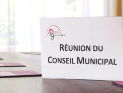 Conseil municipal reunion