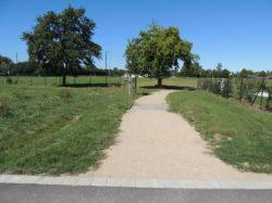 voies piétonnes vers city-park