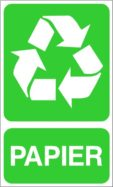 Sigle recyclage papier