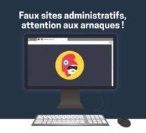 Attention aux faux sites administratifs