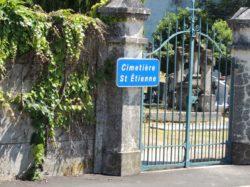 entrée cimetière St Etienne