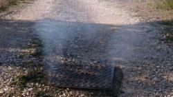 Tests à la fumée des réseaux d'assainissement