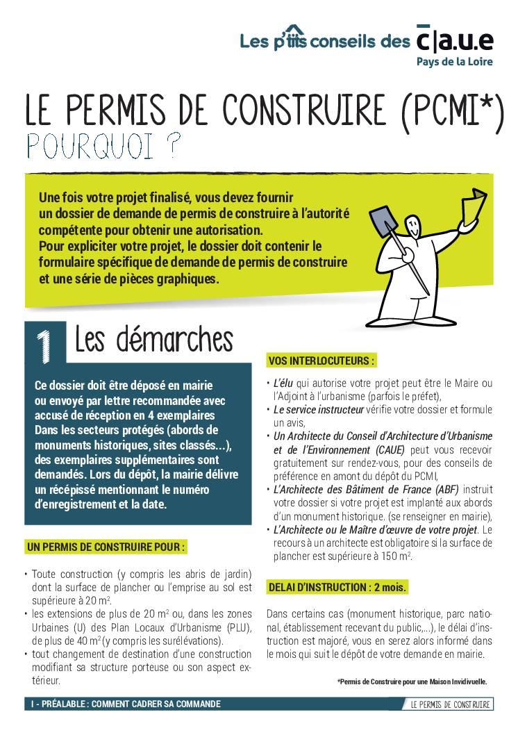 4 – Le permis de construire (PC)