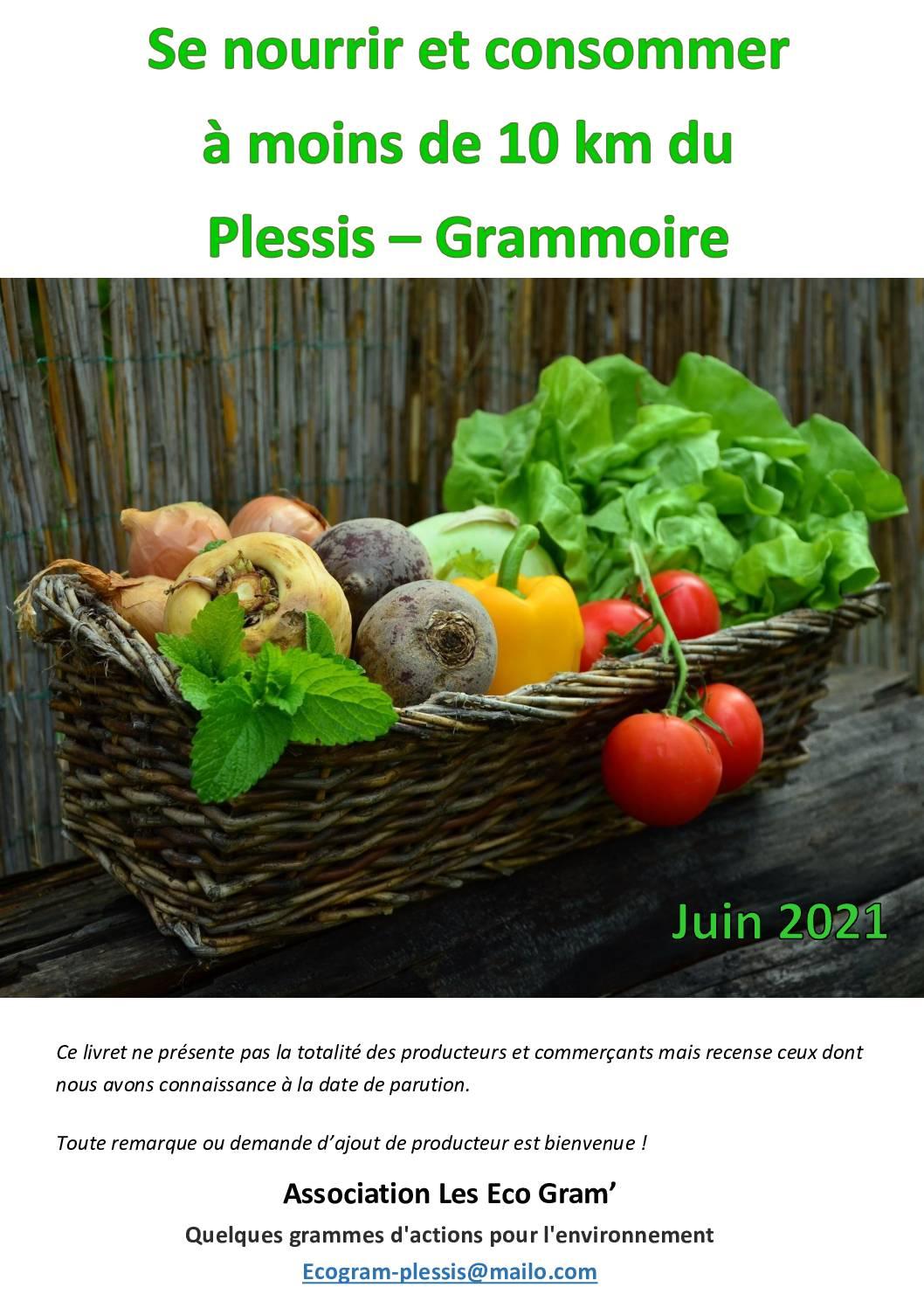 Livret se nourrir à – de 10 km du Plessis v1.3 (papier recyclé)